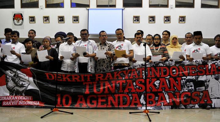 Dekrit Rakyat Untuk Kedaulatan Indonesia