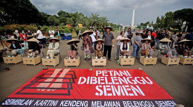 Pernyataan Sikap Indonesia for Global Justice (IGJ) Solidaritas Perjuangan untuk Petani Kendeng Lestari