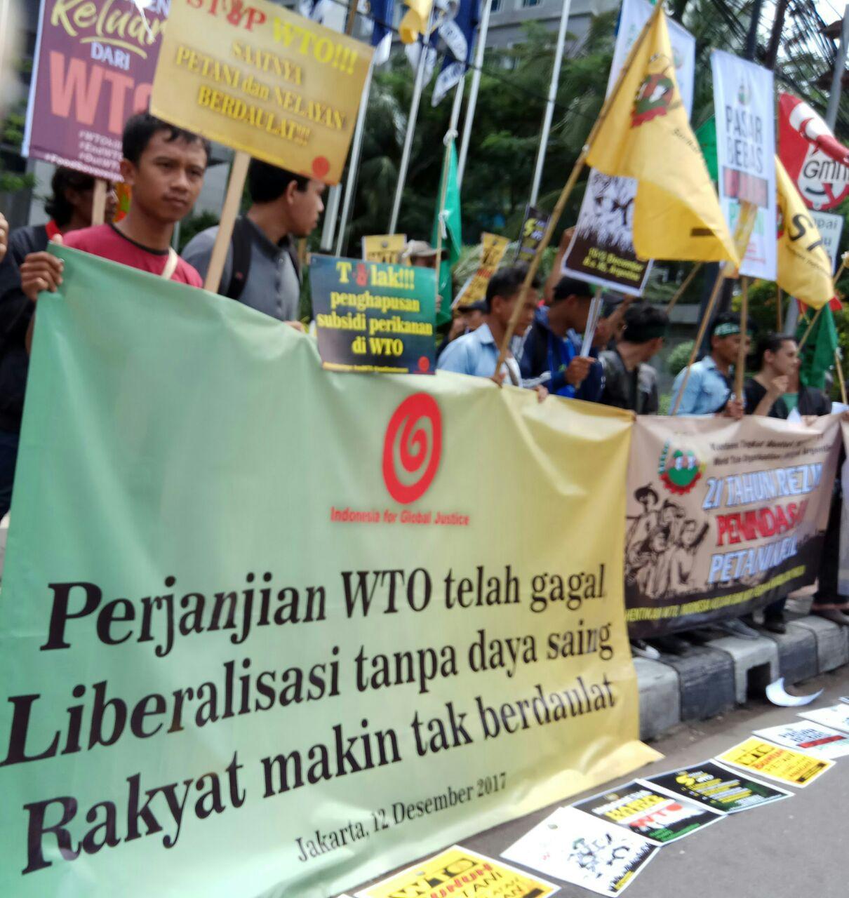 Petani Berdaulat Tanpa WTO