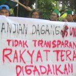 Survey Tentang Peran DPR Dalam Melindungi Hak-Hak Rakyat Pada Perjanjian Perdagangan Bebas