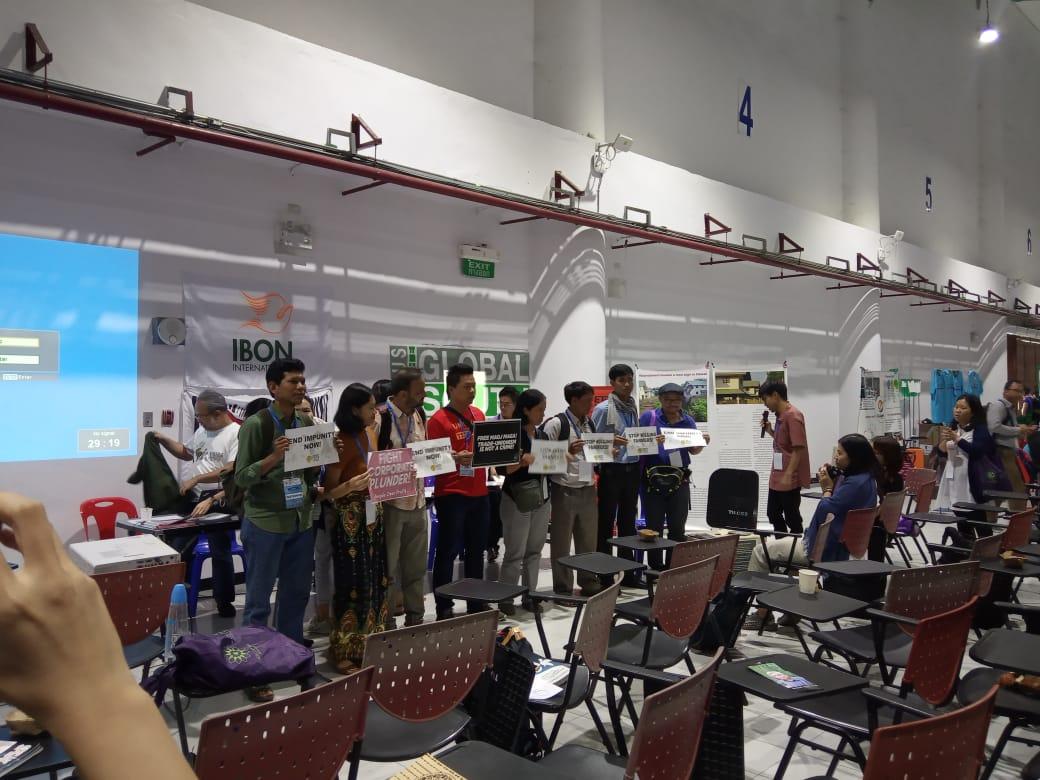 Laporan Dari Acara ASEAN PEOPLE'S FORUM (APF) Bangkok,Thailand,17-19 September 2019