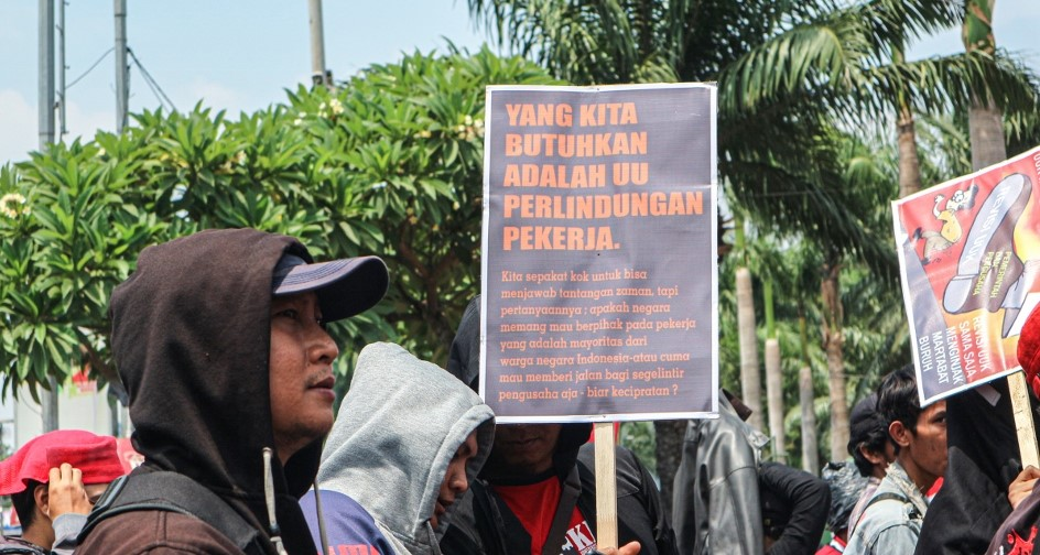 The Controversy Over The Omnibus Bill On Job Creation Indonesia For Global Justice
